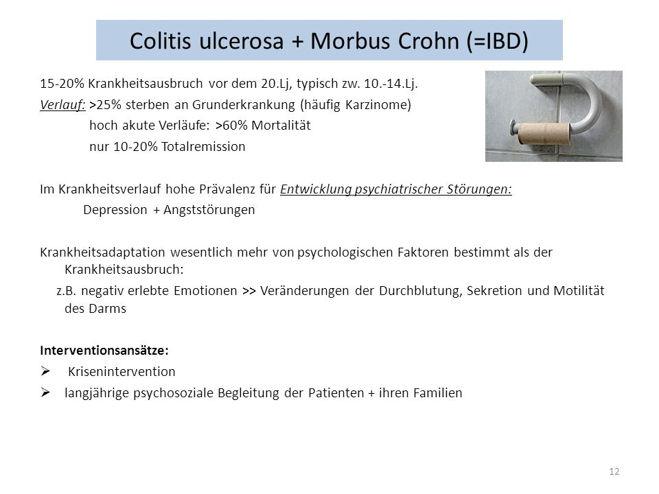 Colitis ulcerosa + Morbus Crohn (=IBD)