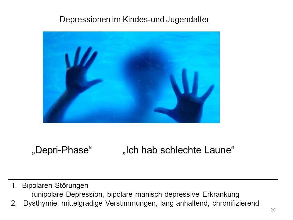 """""""Depri-Phase """"Ich hab schlechte Laune"""