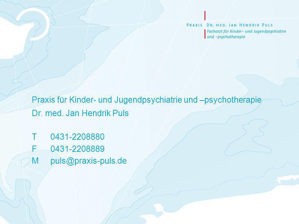 Praxis für Kinder- und Jugendpsychiatrie und –psychotherapie