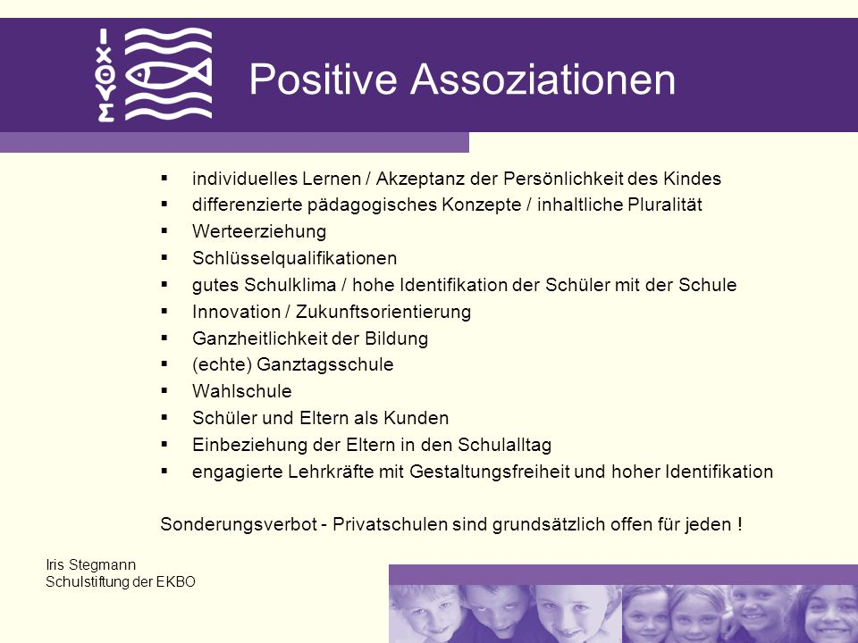 Positive Assoziationen