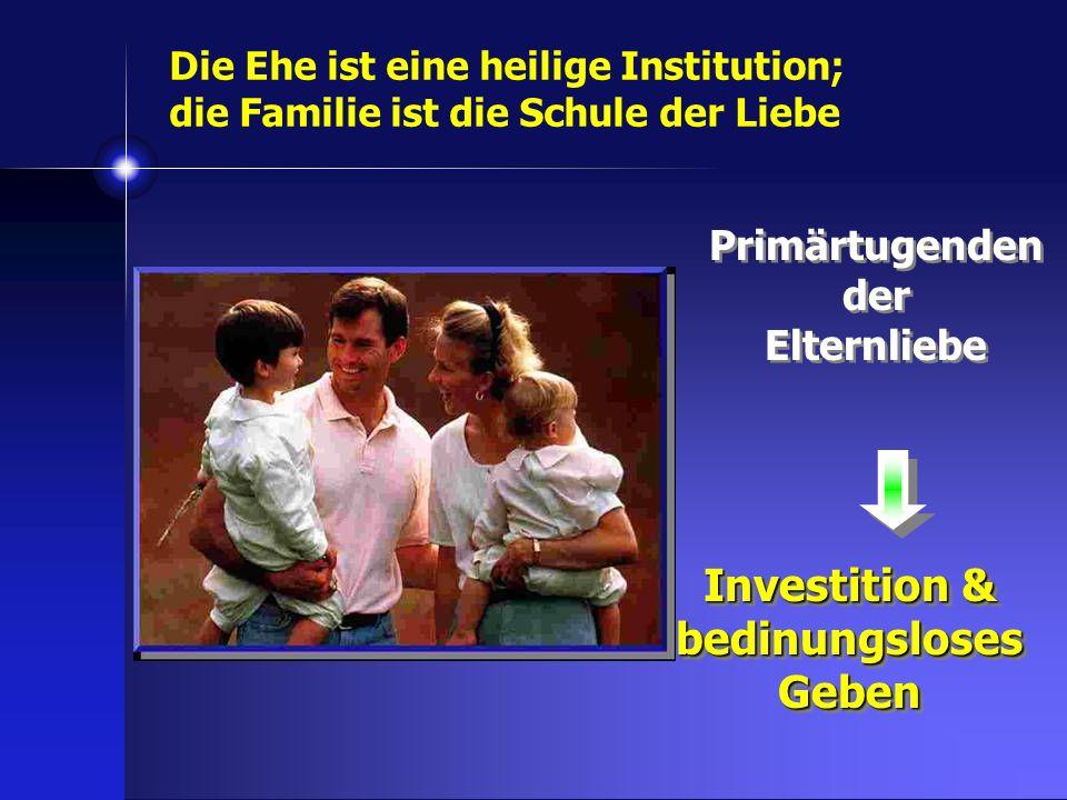 Primärtugenden der Elternliebe