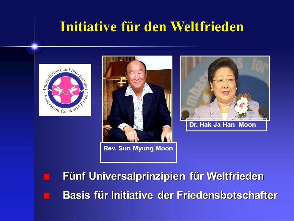 Initiative für den Weltfrieden