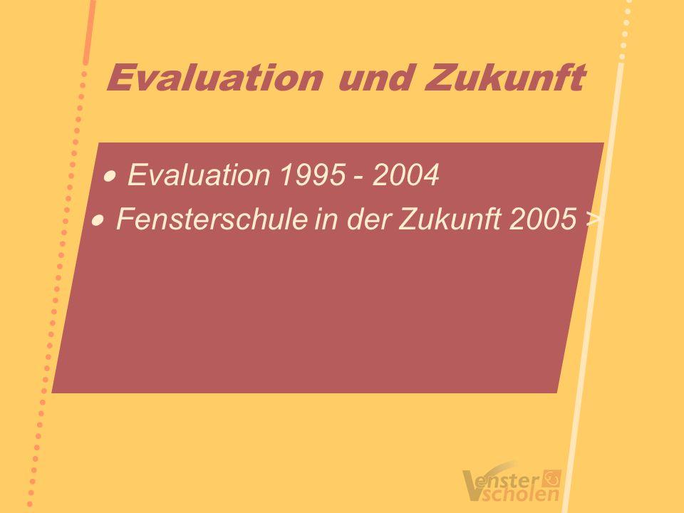 Evaluation und Zukunft