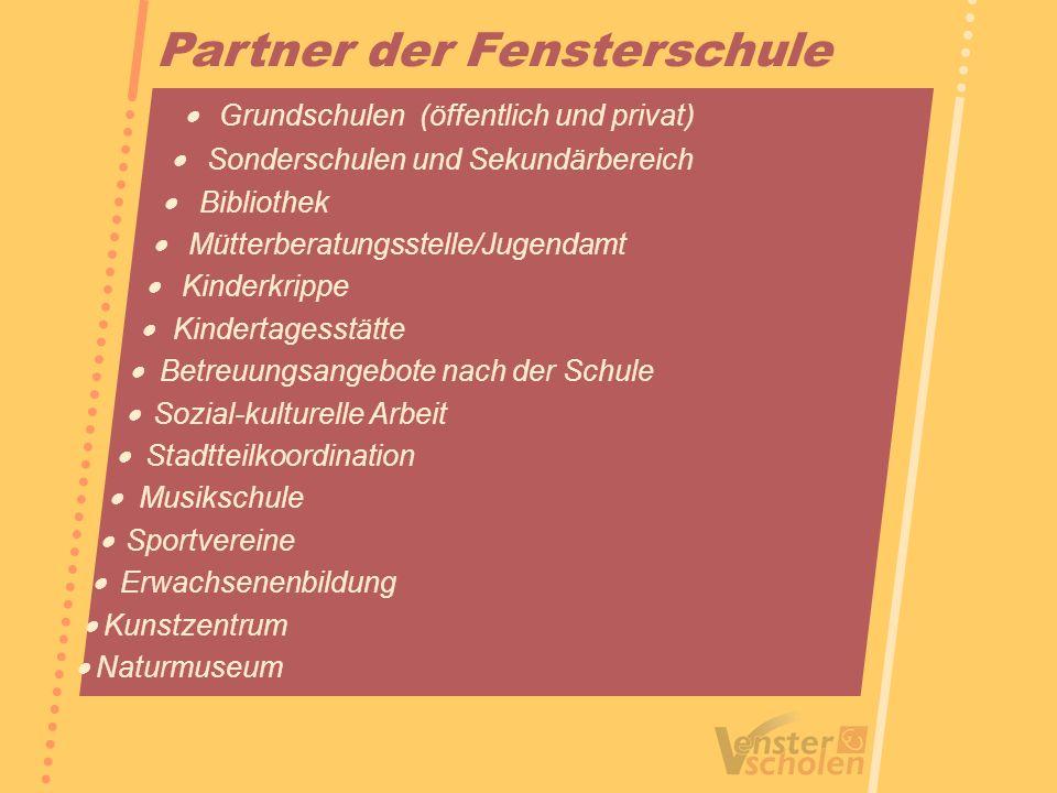 Partner der Fensterschule