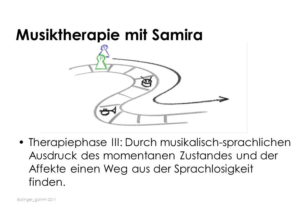 Musiktherapie mit Samira