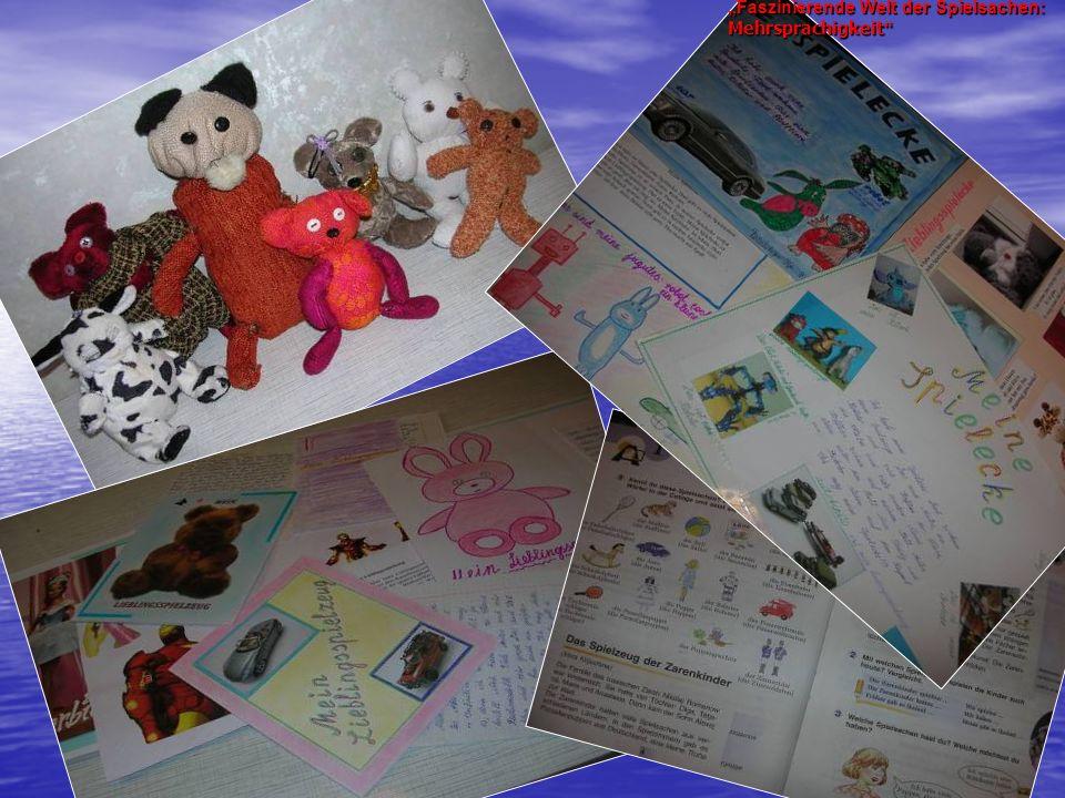 """""""Faszinierende Welt der Spielsachen: Mehrsprachigkeit"""