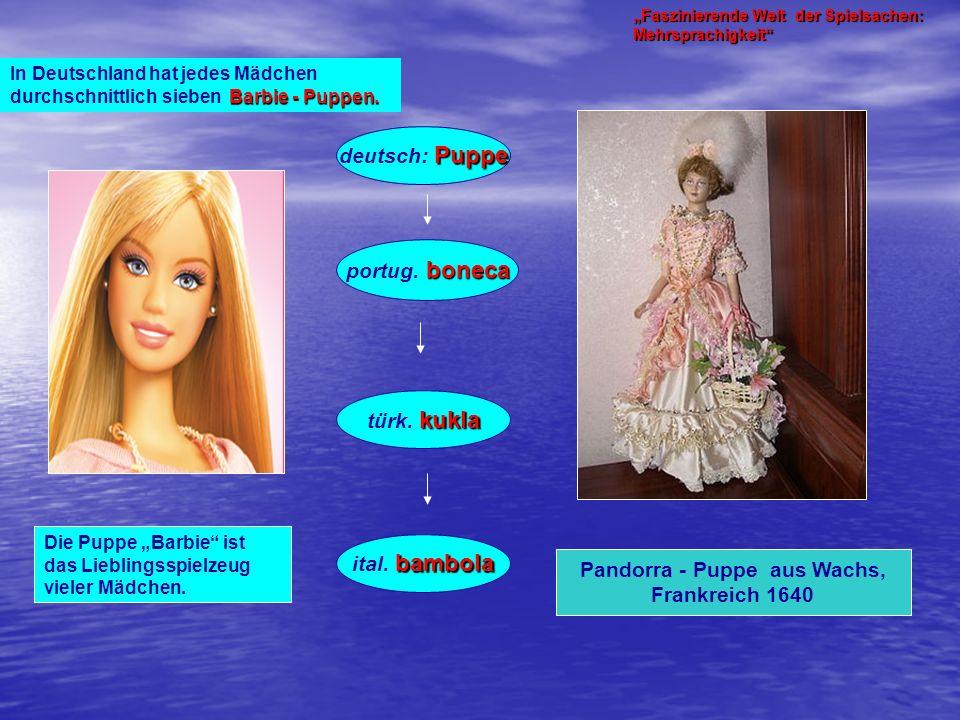 Pandorra - Puppe aus Wachs,