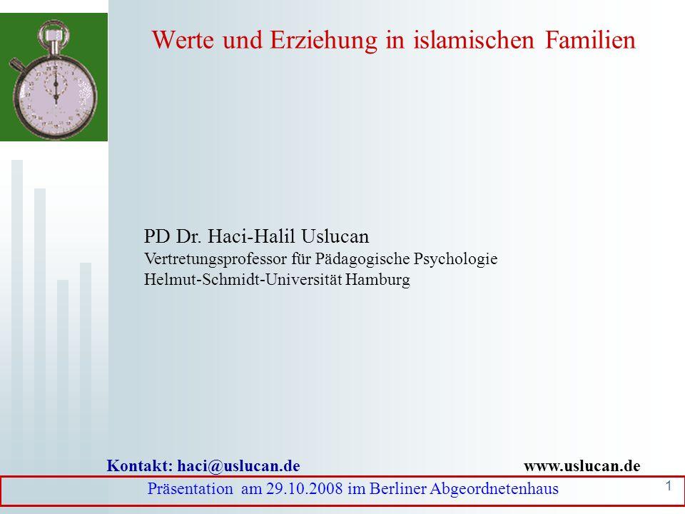 Werte und Erziehung in islamischen Familien