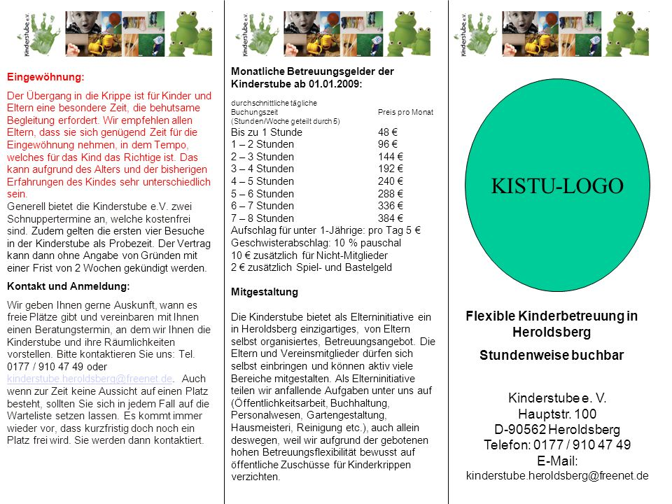 Flexible Kinderbetreuung in Heroldsberg