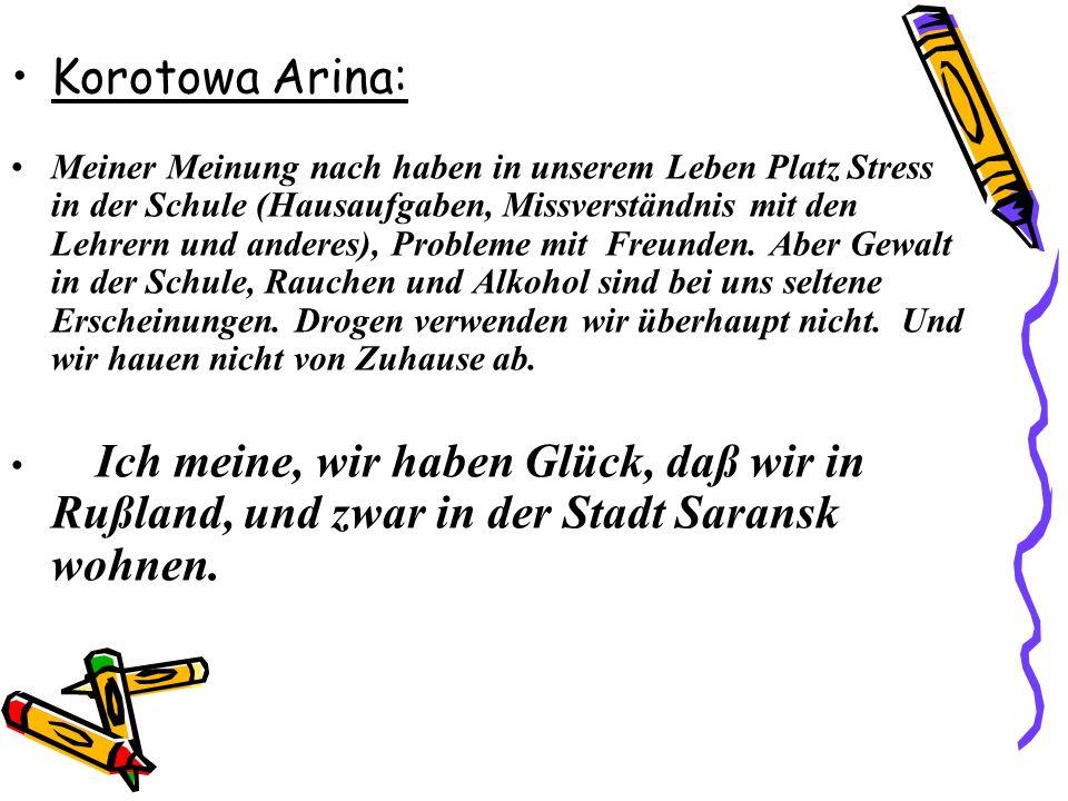 Korotowa Arina: