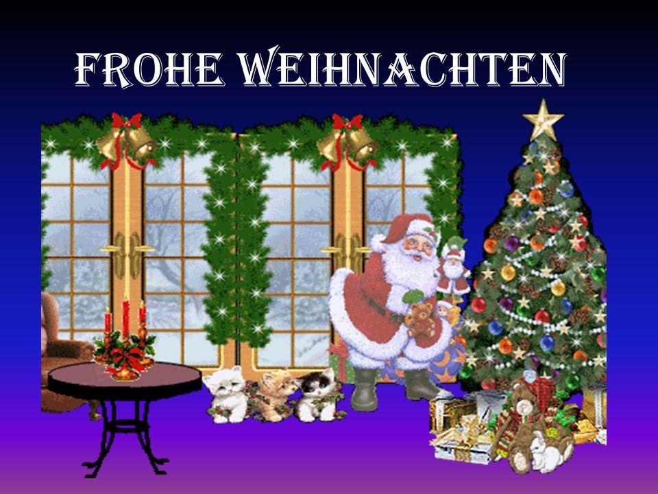 Frohe Weihnachten Frohe Weihnachten