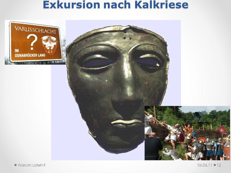 Exkursion nach Kalkriese