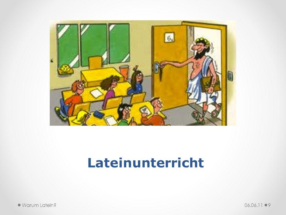 Lateinunterricht Warum Latein 06.06.11