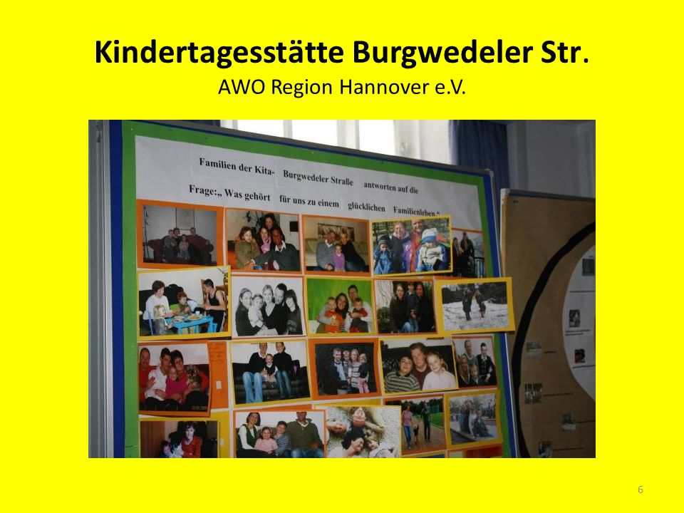 Kindertagesstätte Burgwedeler Str. AWO Region Hannover e.V.