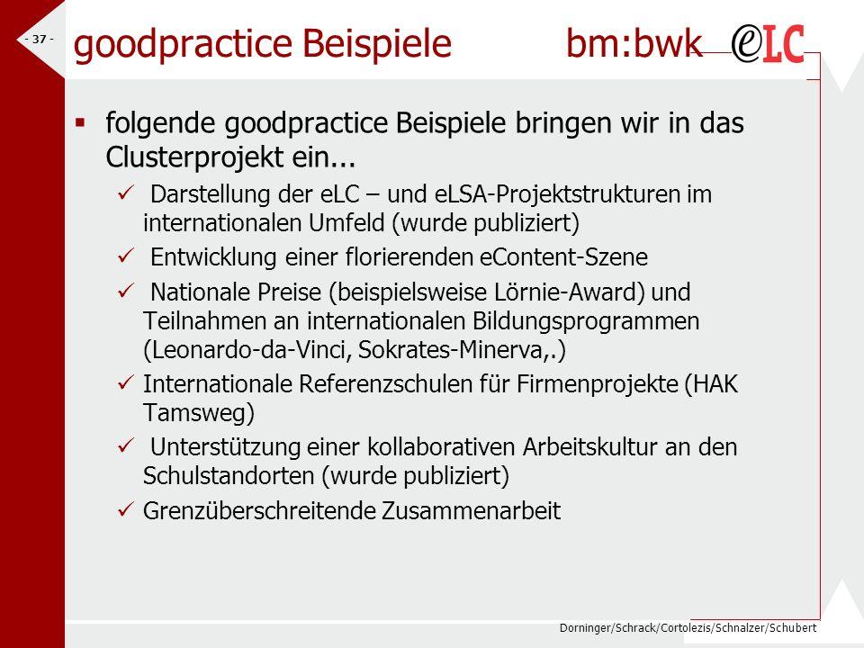 goodpractice Beispiele bm:bwk