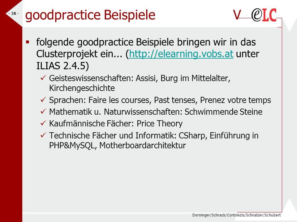 goodpractice Beispiele V