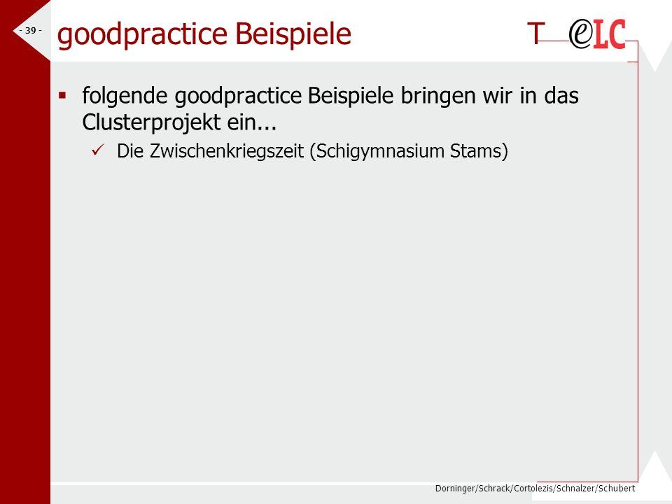 goodpractice Beispiele T
