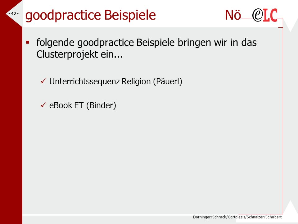goodpractice Beispiele Nö