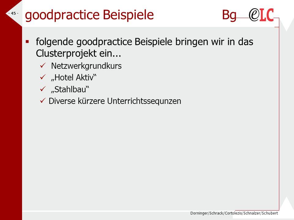 goodpractice Beispiele Bg