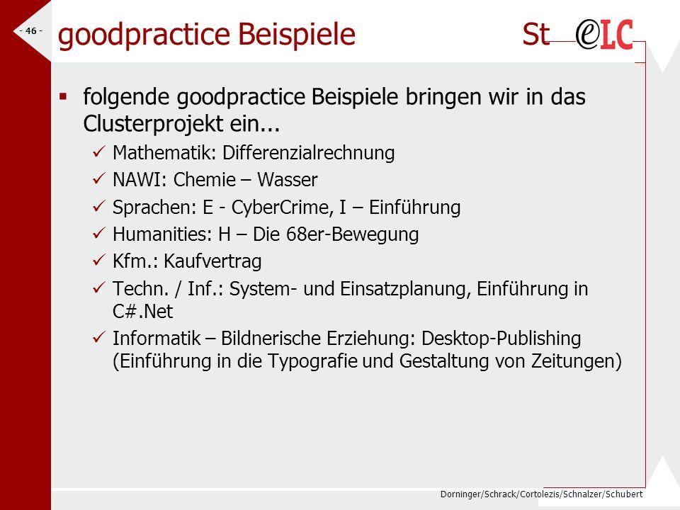 goodpractice Beispiele St