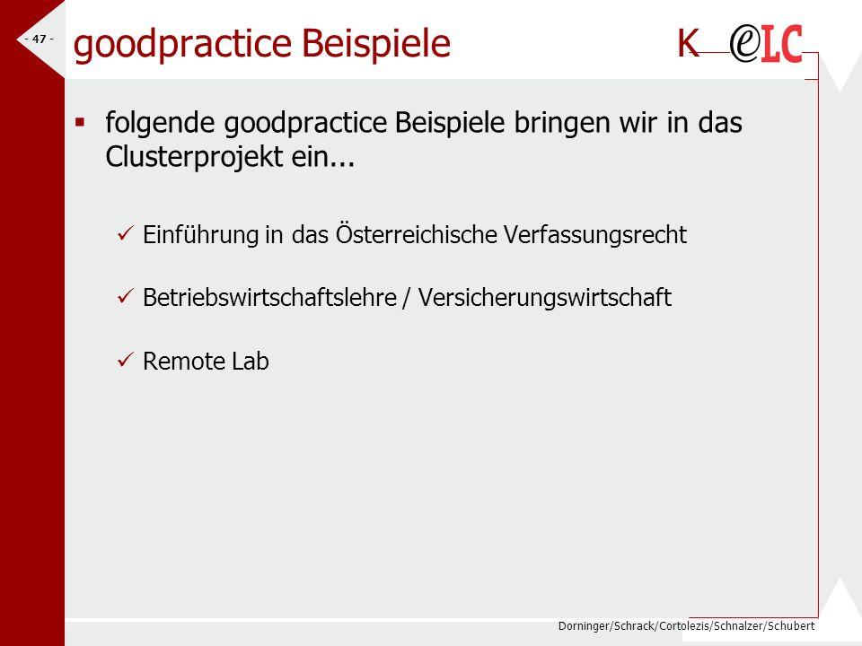 goodpractice Beispiele K