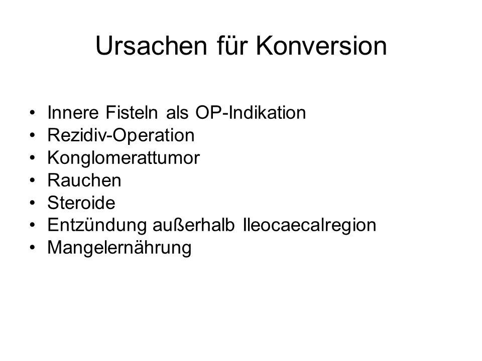 Ursachen für Konversion