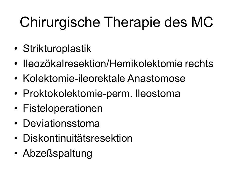 Chirurgische Therapie des MC