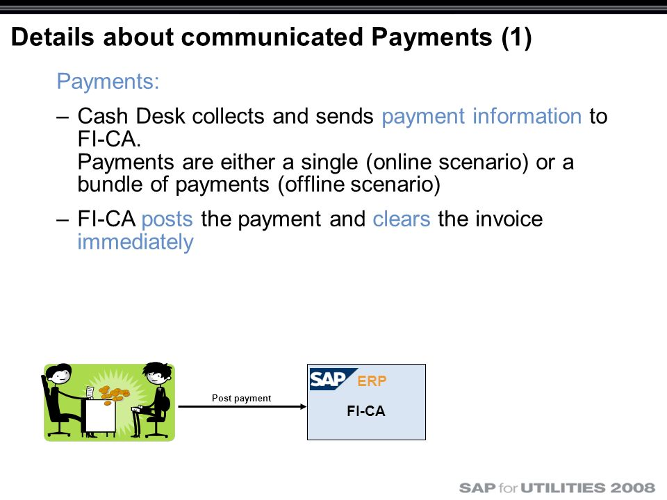 Details about communicated Payments (1)