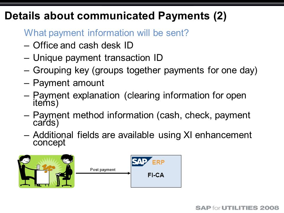 Details about communicated Payments (2)