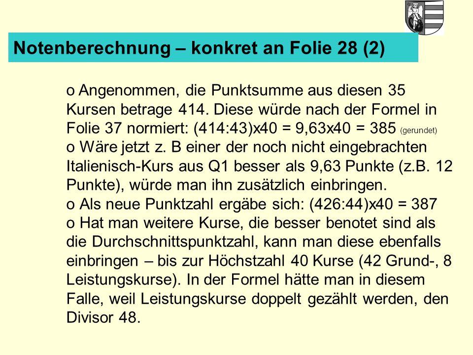 Notenberechnung – konkret an Folie 28 (2)