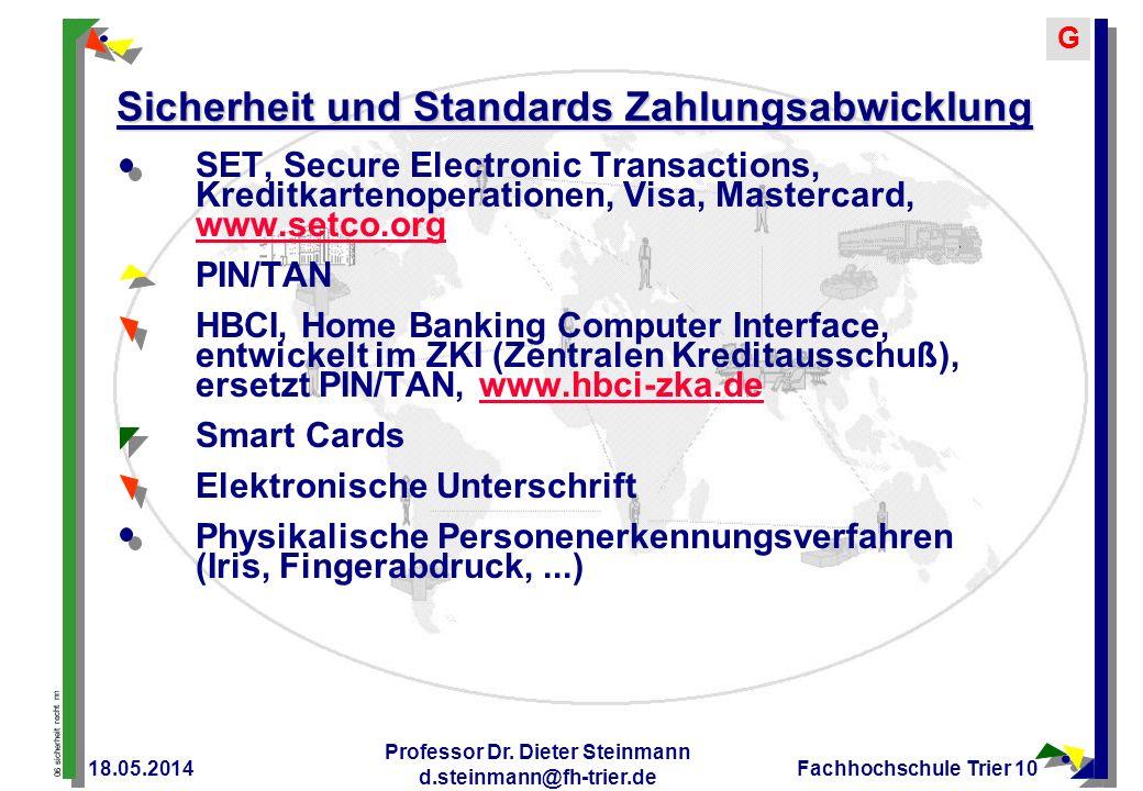 Sicherheit und Standards Zahlungsabwicklung