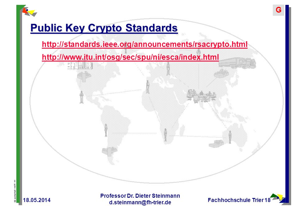 Public Key Crypto Standards