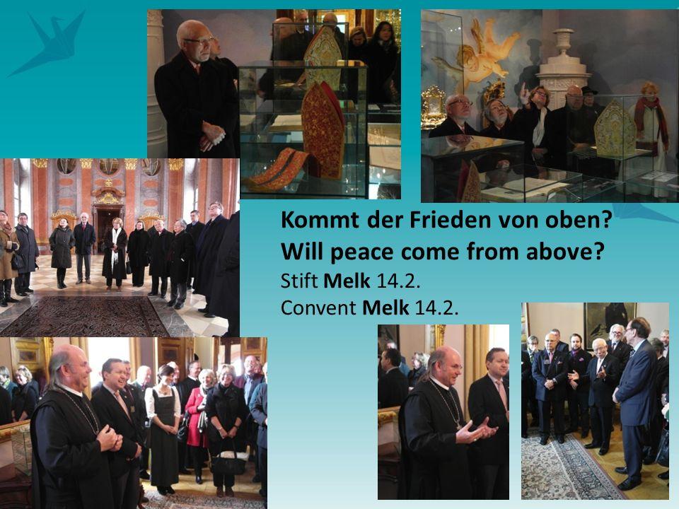 5 Kommt der Frieden von oben Will peace come from above