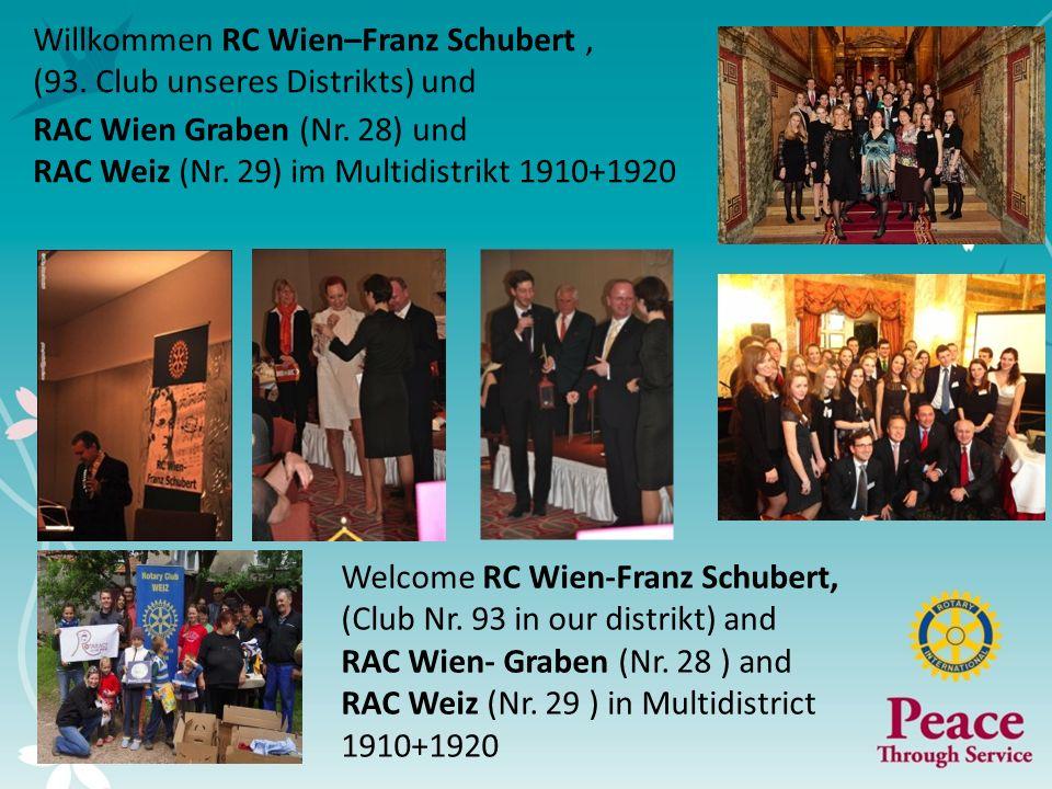 Willkommen RC Wien–Franz Schubert ,