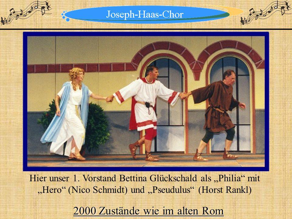 2000 Zustände wie im alten Rom