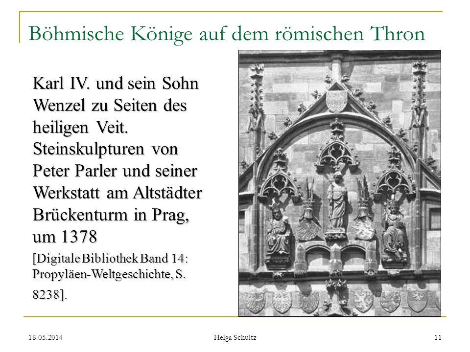 Böhmische Könige auf dem römischen Thron
