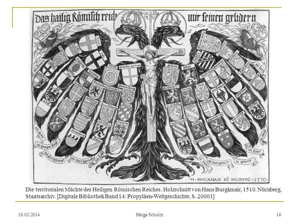 Die territorialen Mächte des Heiligen Römischen Reiches