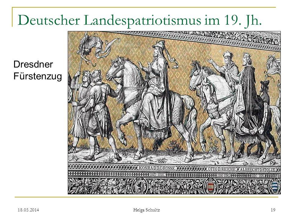 Deutscher Landespatriotismus im 19. Jh.