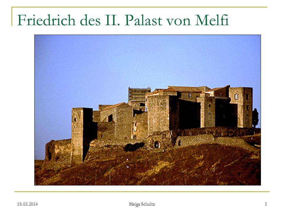 Friedrich des II. Palast von Melfi