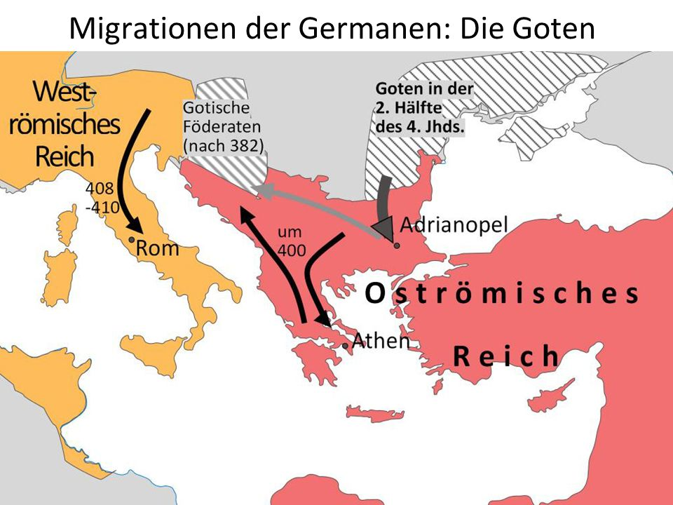 Migrationen der Germanen: Die Goten
