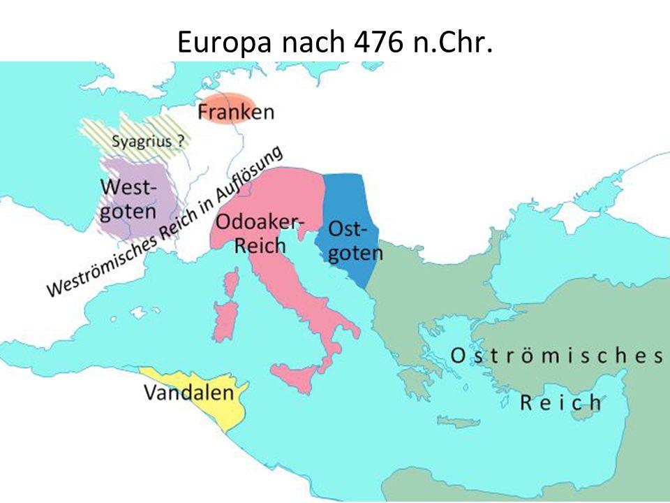 Europa nach 476 n.Chr. ..