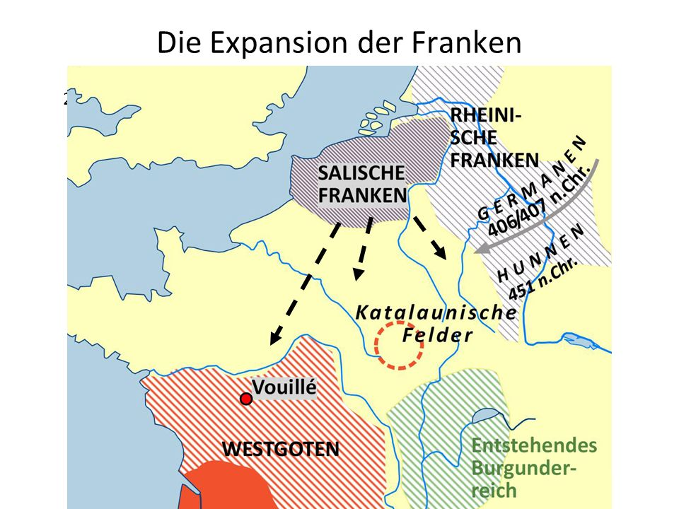 Die Expansion der Franken