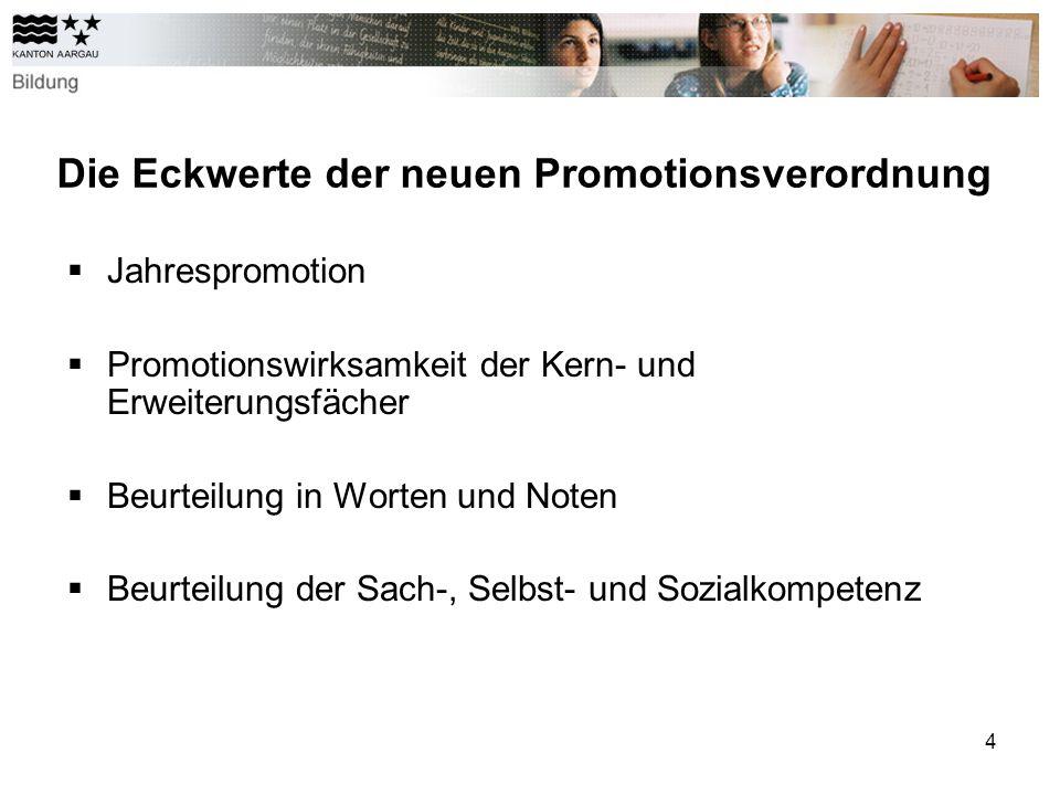 Die Eckwerte der neuen Promotionsverordnung