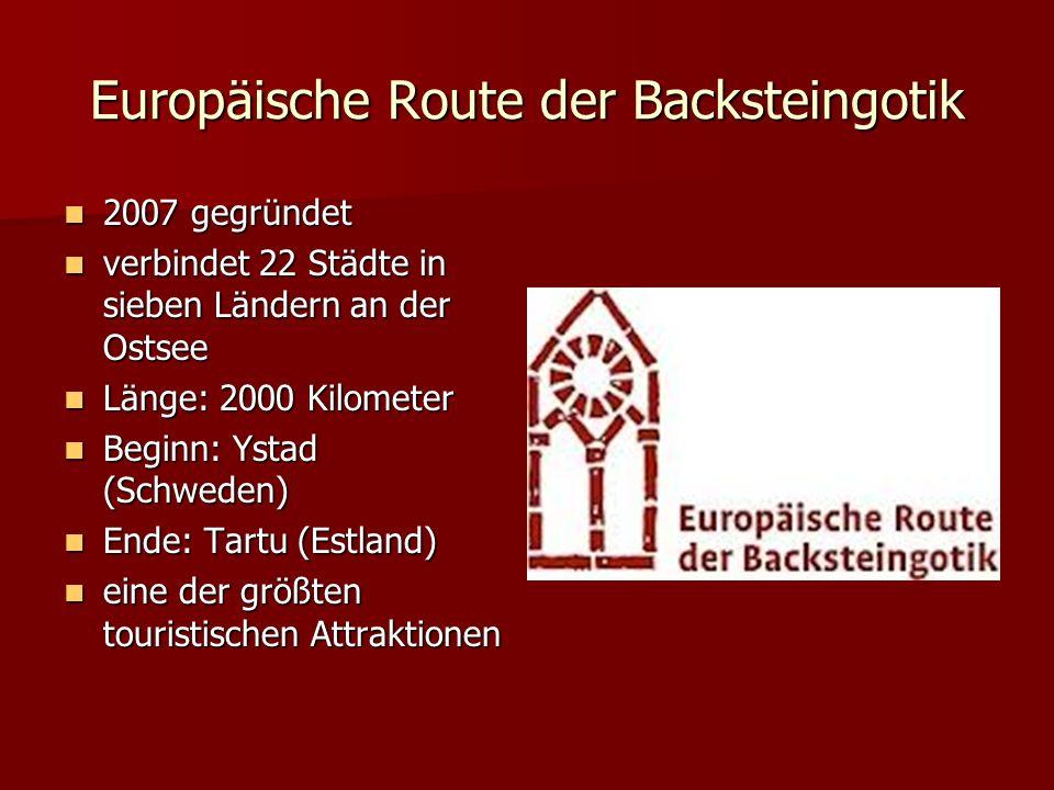 Europäische Route der Backsteingotik