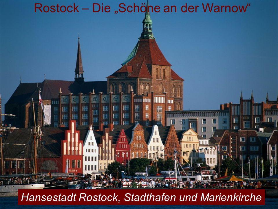"""Rostock – Die """"Schöne an der Warnow"""