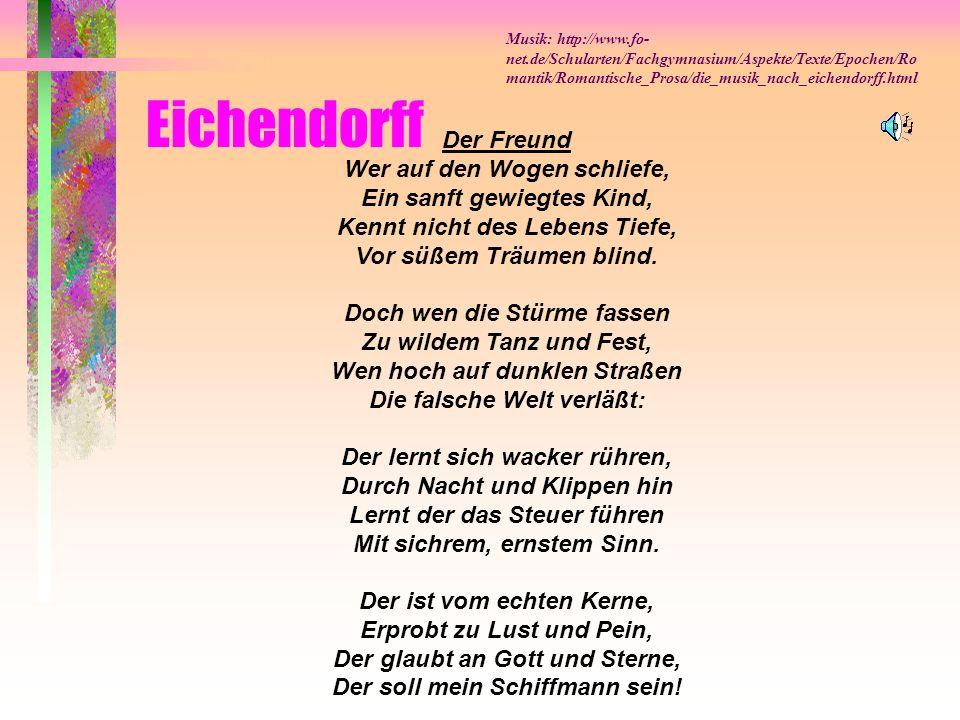 Eichendorff Der Freund