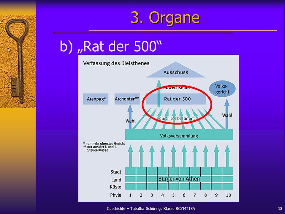"""3. Organe b) """"Rat der 500"""