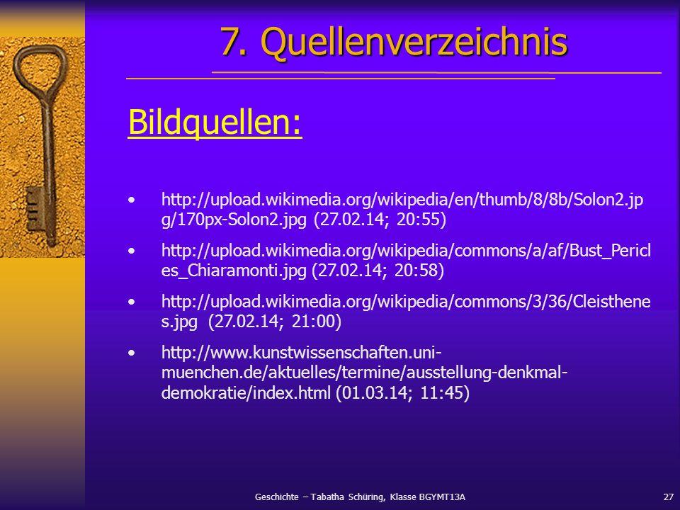 7. Quellenverzeichnis Bildquellen: