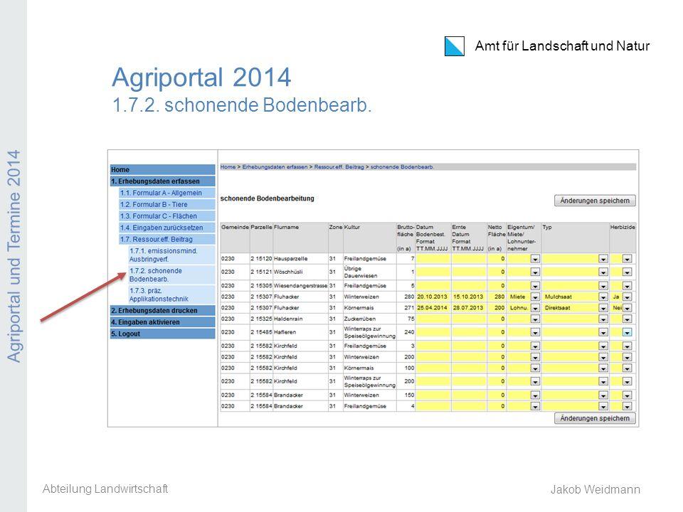 Agriportal 2014 1.7.2. schonende Bodenbearb.
