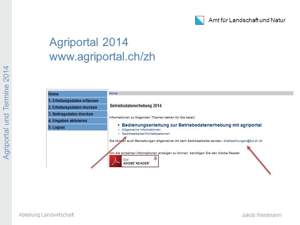 Agriportal 2014 www.agriportal.ch/zh